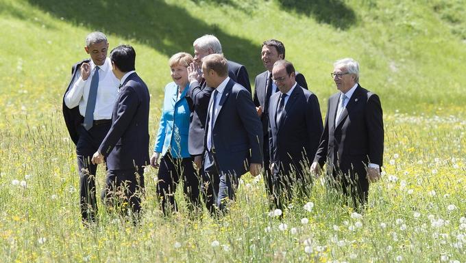 Réunion du G7 en Bavière