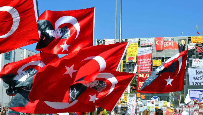Manifestation au parc Gezi - 2013