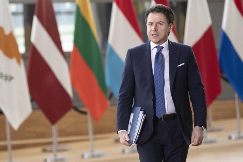 Le président du Conseil italien Giuseppe Conte attend un signe concret de solidarité de la part de ses homologues lors du sommet européen du 23 avril