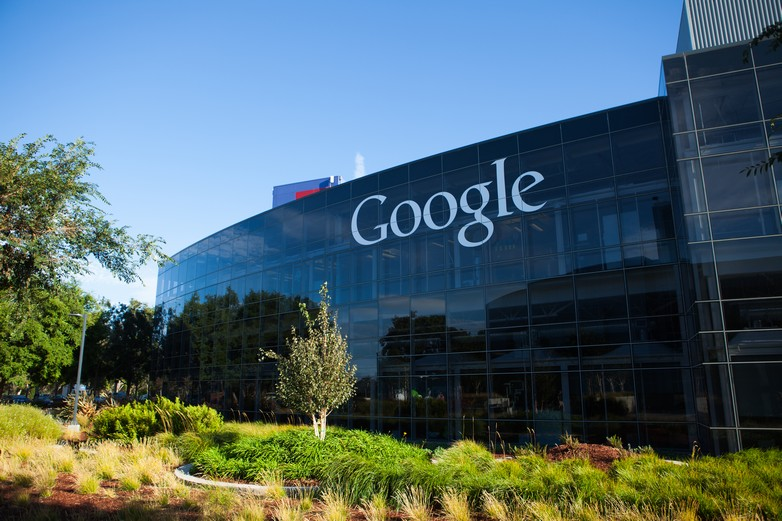 Googleplex, le siège social de Google, Mountain View, Californie
