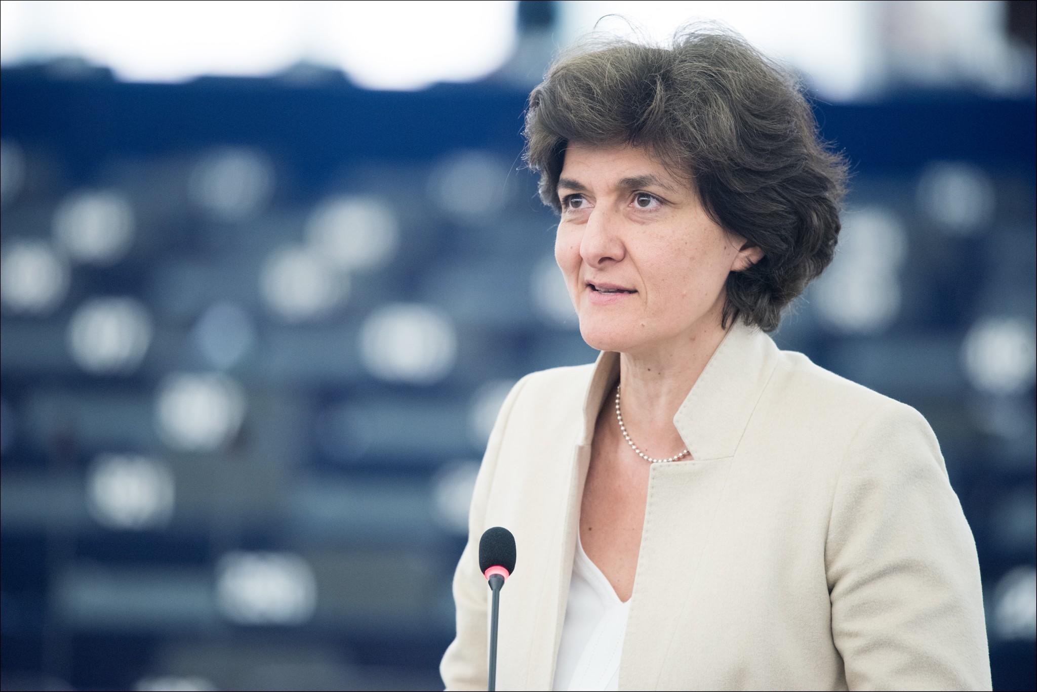Sylvie Goulard, ex-commissaire européenne désignée au Marché intérieur - Crédits : Parlement européen