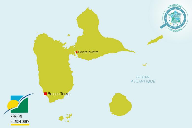 L'Europe en région : Guadeloupe