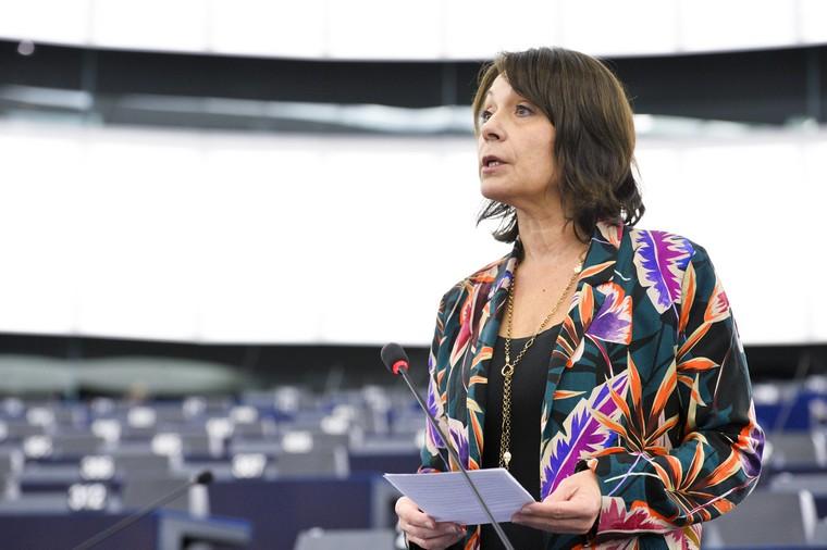 Sylvie Guillaume Crédits : Parlement européen (Novembre 2019)