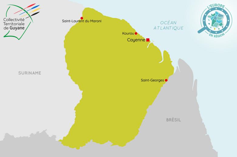 L'Europe en région : Guyane