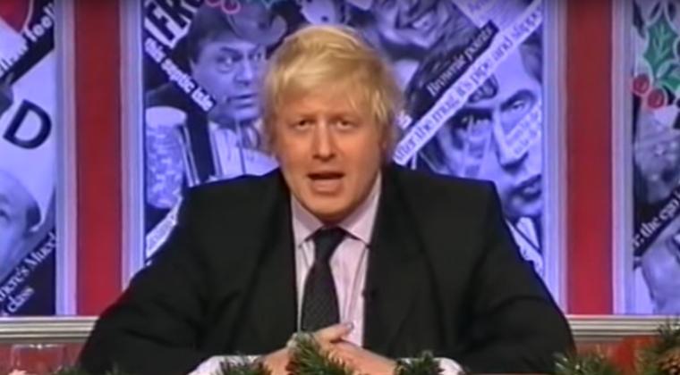 Boris Johnson dans l'émission Have I Got News for You sur la BBC en 2006 - Crédits : capture d'écran YouTube