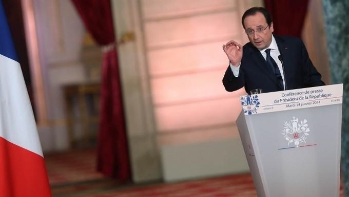 Hollande (c) Présidence de la République