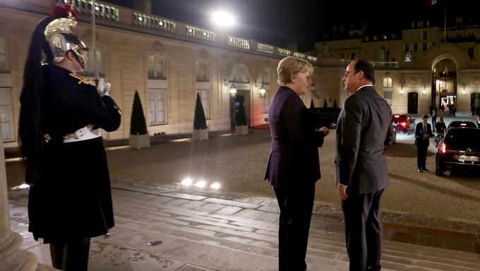 François Hollande et Angela Merkel à l'Elysée ©Présidence de la République – Christelle ALIX