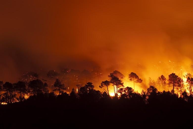 Incendie en Espagne