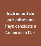 Instrument de pré-adhésion