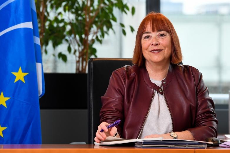 Isabel Caño Aguilar, vice-présidente du CESE en charge de la communication - Crédits : Comité économique et social européen