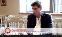 Interview vidéo de l'eurodéputé Pascal Durand dénoncant la nomination de Cañete