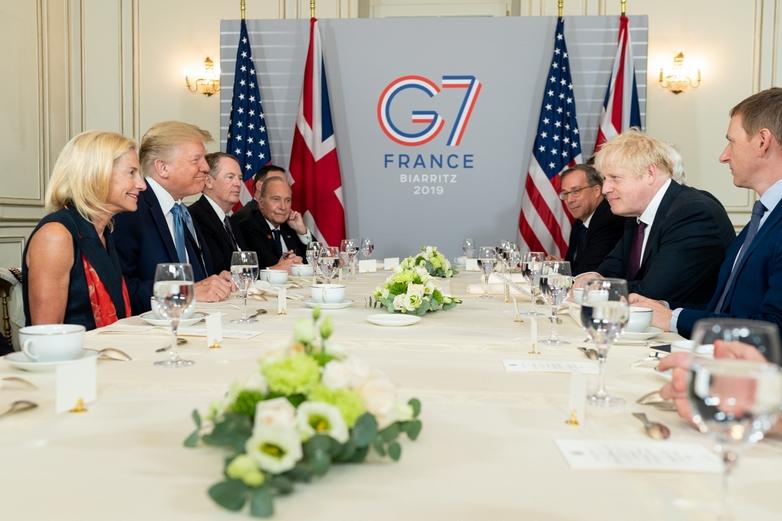 Petit déjeuner entre Donald Trump et Boris Johnson dimanche 25 août, en marge du G7 à Biarritz