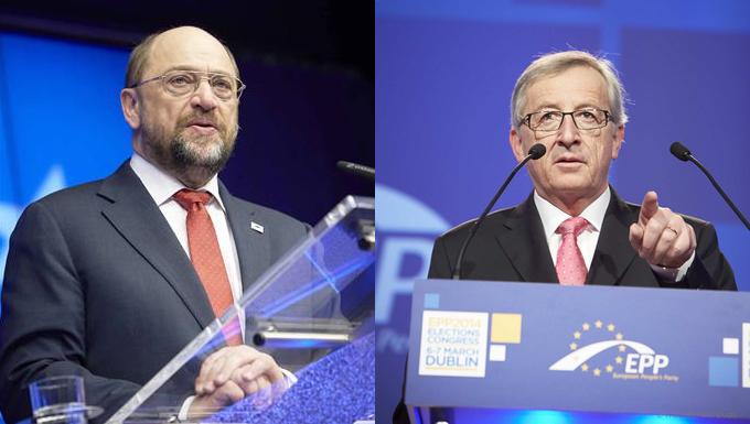 Martin Schulz - Jean-Claude Juncker