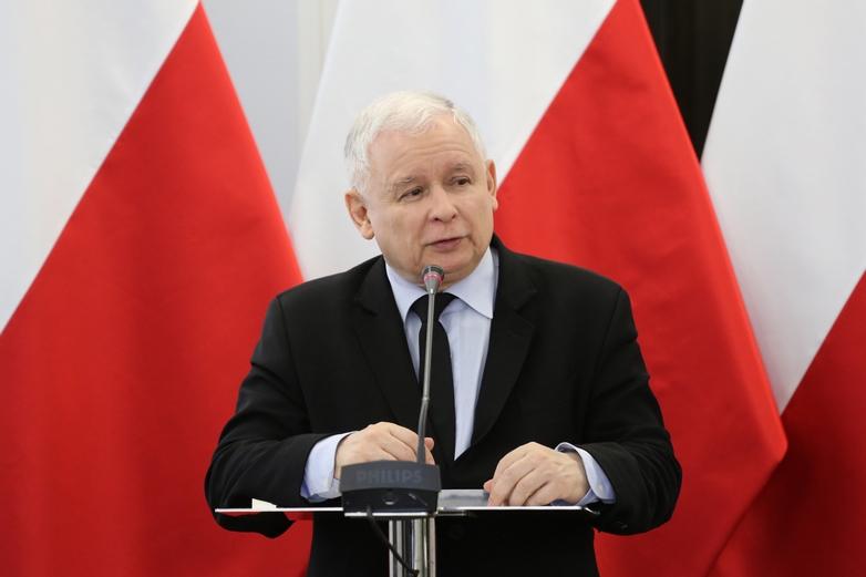 Jaroslaw Kaczyński, président du parti Droit et Justice (PiS) en 2017 - Crédits : Rafal Zambrzycki / Flickr Sejm RP CC BY 2.0