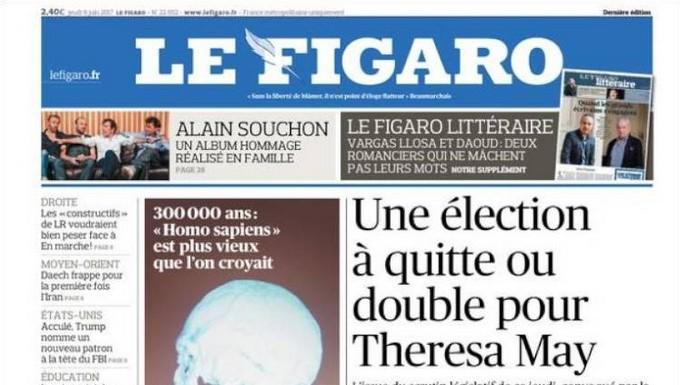 Une Le Figaro