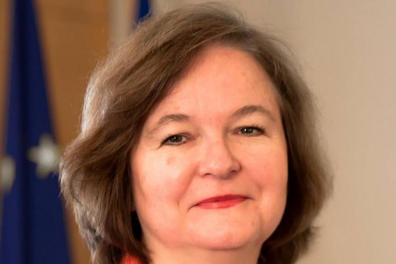 La tête de liste LaREM Nathalie Loiseau - Crédits : compte Facebook @NathalieLoiseauEurope