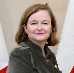 Nathalie Loiseau - Crédits ministère polonais des Affaires étrangères