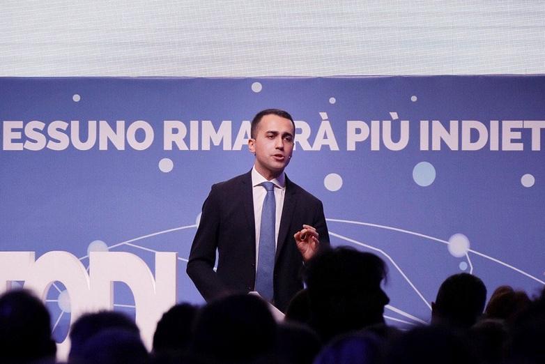 Luigi Di Maio - Crédits : compte Twitter @luigidimaio