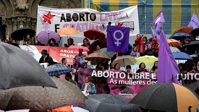 Manifestation anti-avortement à Madrid Espagne Rajoy Gallardon