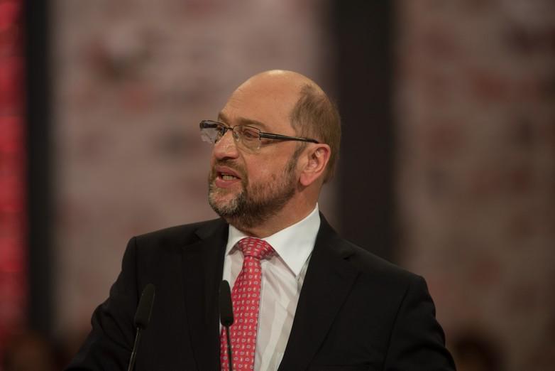 Martin Schulz, président du parti social-démocrate allemand (SPD)