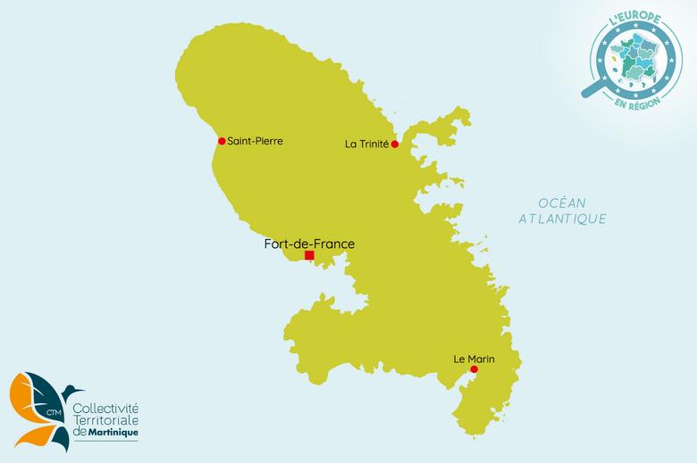 L'Europe en région : Martinique
