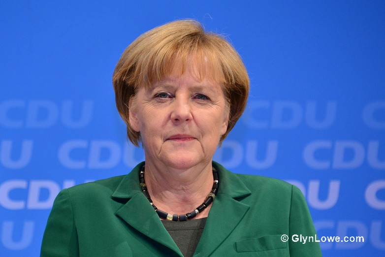 Angela Merkel, chancelière fédérale allemande