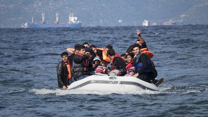 Migrants au large de la Grèce