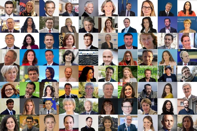 Les 79 députés français élus le 26 mai 2019