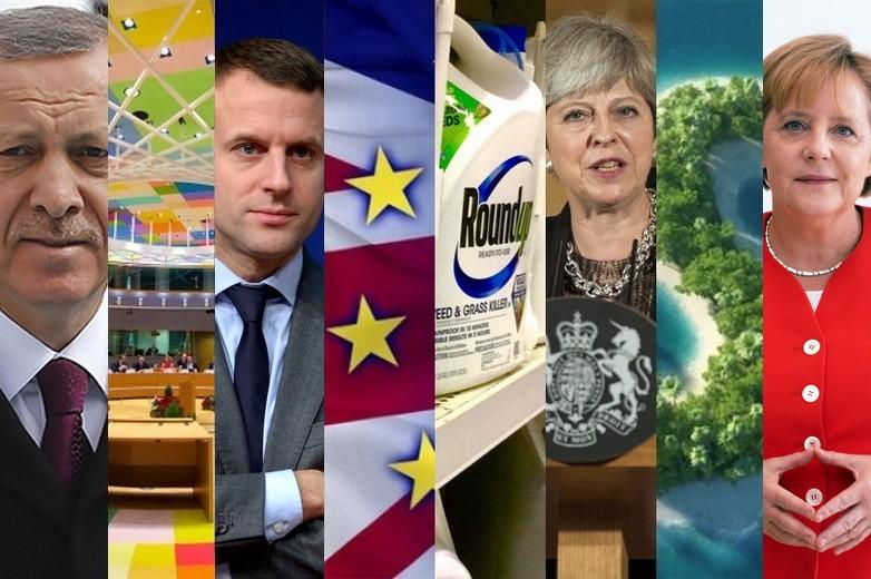 Revivez les grands événements qui ont marqué l'Europe cette année
