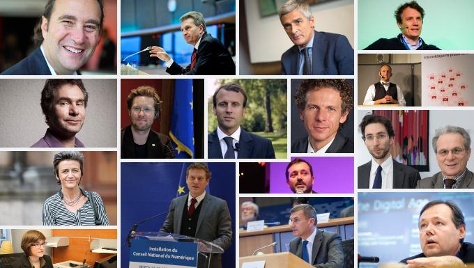 Les personnalités européennes du numérique