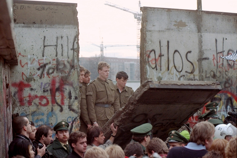 Construction et destruction du mur de Berlin