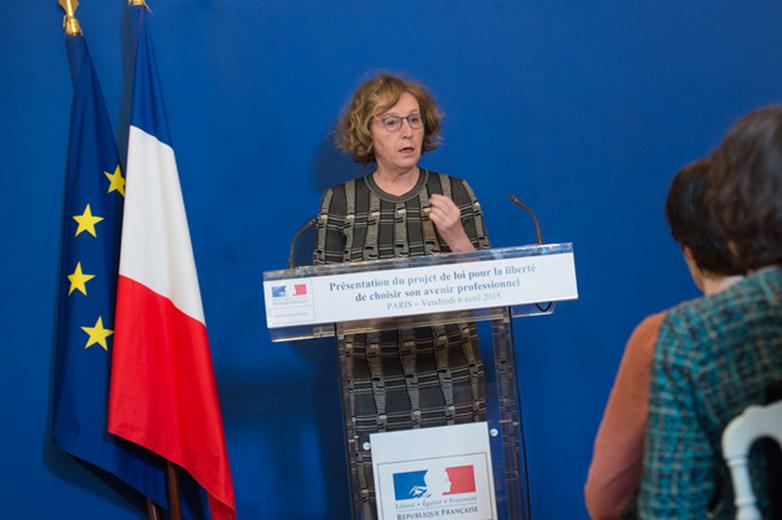 Muriel Pénicaud - Crédits : Ministère du Travail