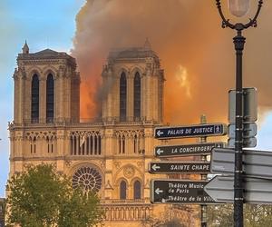 Incendie de Notre-Dame de Paris le 15 avril - Crédits : Milliped / Wikimedia Commons