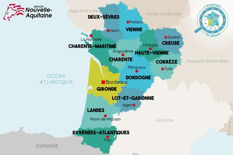 L'Europe en région : Nouvelle Aquitaine