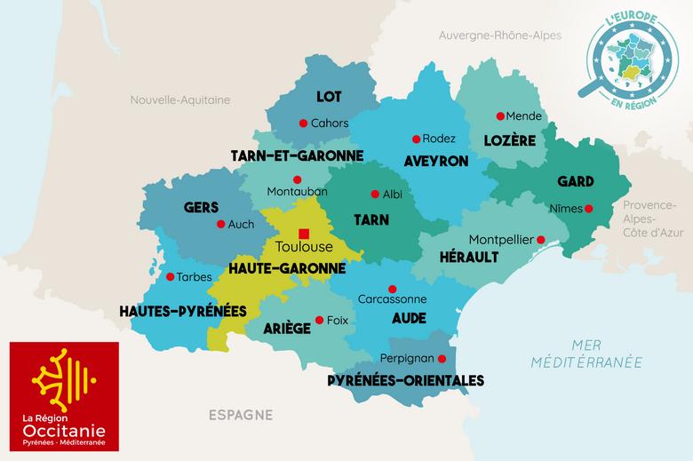 L'Europe en région : Occitanie