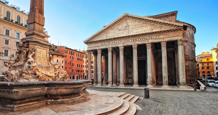 Le Panthéon à Rome - Crédits : Xantana / iStock