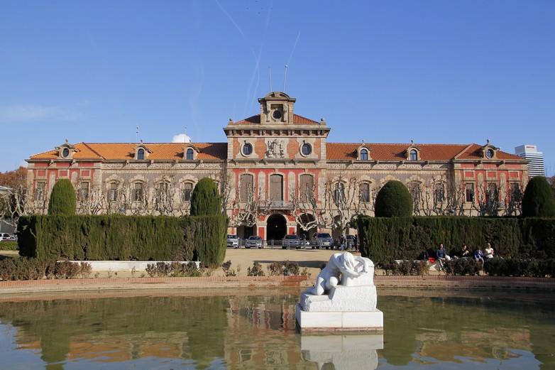 Palais du Parlement de Catalogne à Barcelone
