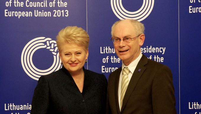 Dalia Grybauskaitė & Van Rompuy