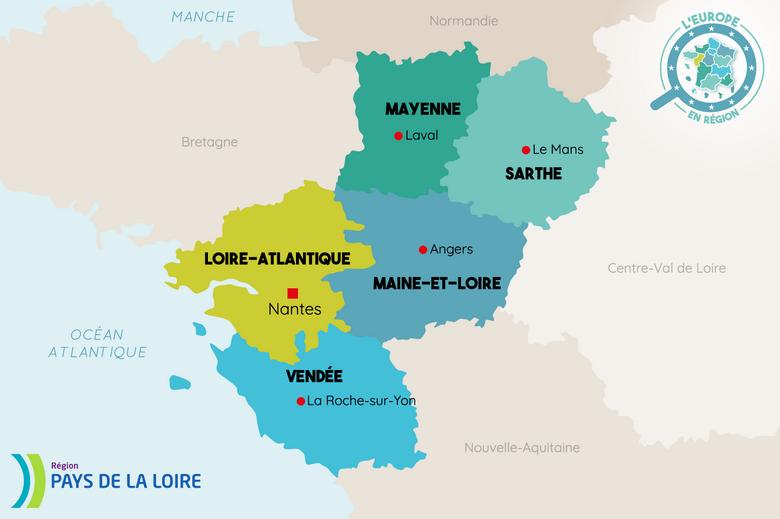 L'Europe en région : Pays de la Loire