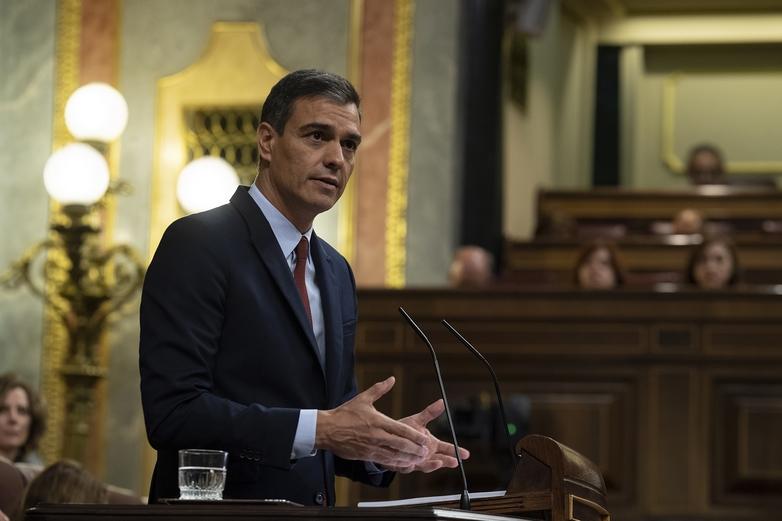 Le Premier ministre espagnol sortant Pedro Sánchez - Crédits : Borja Puig de la Bellacasa / Flickr CC BY-NC-ND 2.0