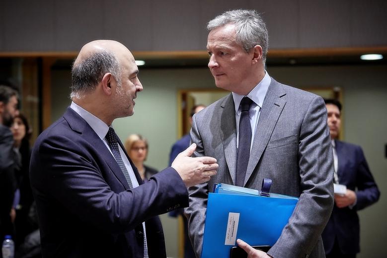 Pierre Moscovici et Bruno Le Maire
