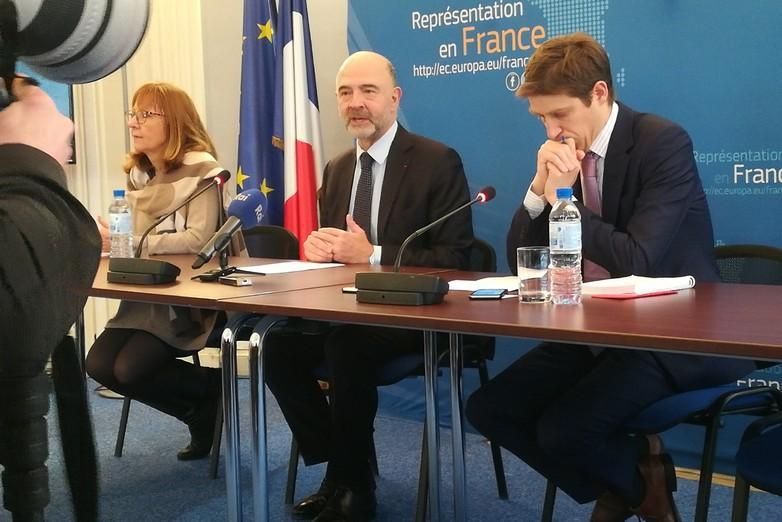 Pierre Moscovici souhaite une approche