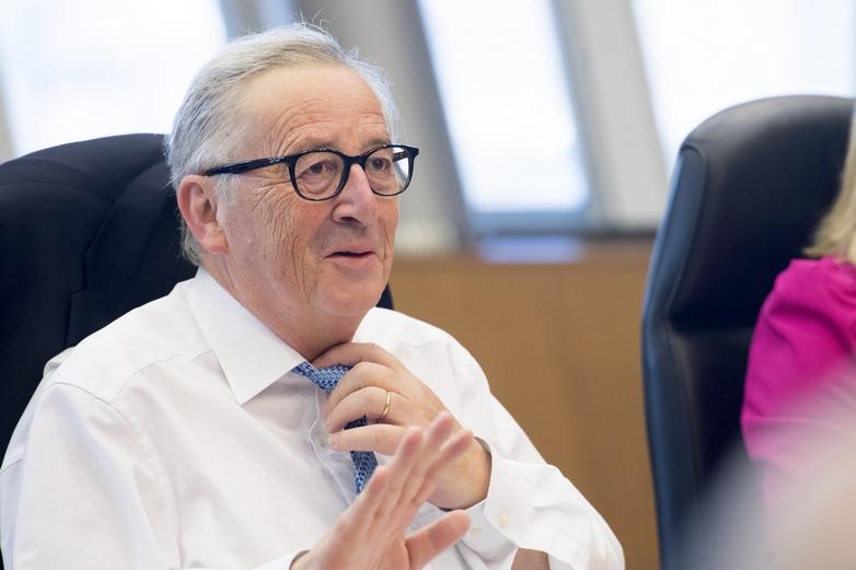 Jean-Claude Juncker, président de la Commission européenne