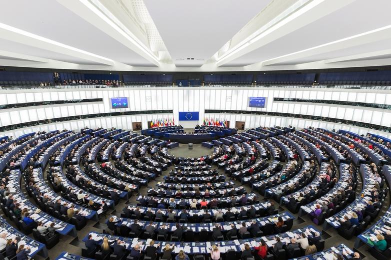 Une session plénière du Parlement européen à Strasbourg en 2014 - Crédits : David Iliff / Wikimedia Commons CC BY-SA 3.0