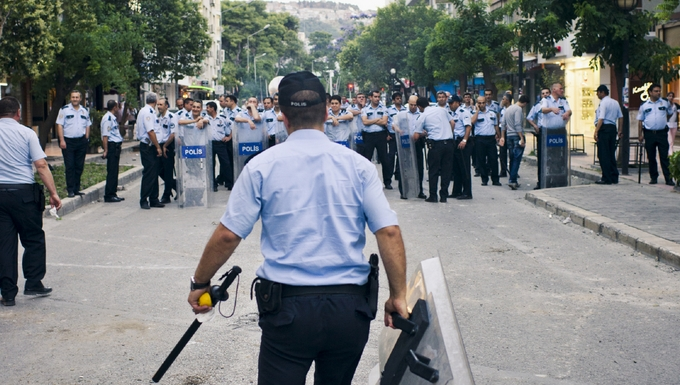 Police turque