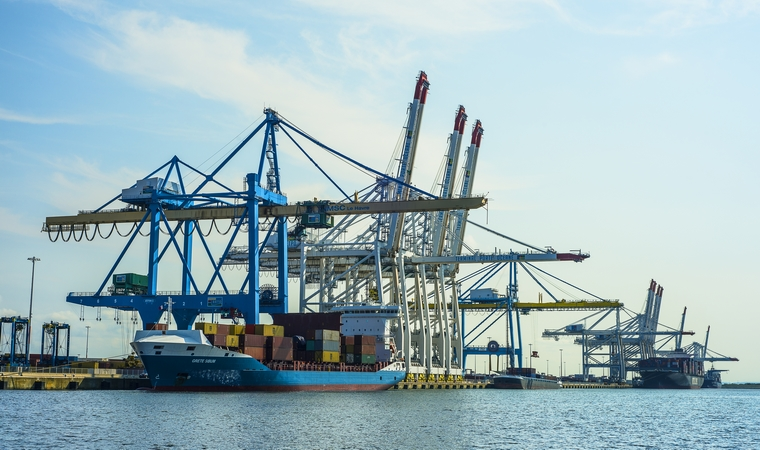 Port du Havre, Normandie - Crédits : Nicolas Gihr / iStock