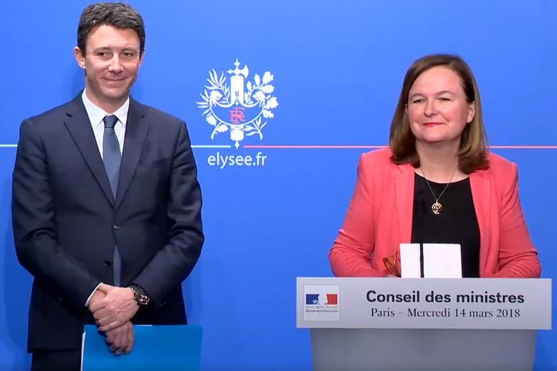 Présentation des consultations citoyennes par Nathalie Loiseau, ministre des Affaires européennes