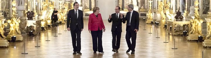 Sommet quadripartite à Versailles