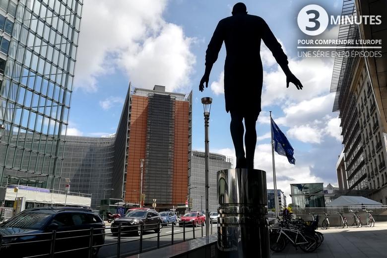 Le quartier des institutions à Bruxelles - Crédits : Marie Guitton / Toute l'Europe