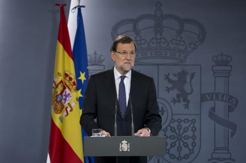 Mariano Rajoy, président du gouvernement d'Espagne